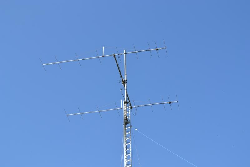 Antenne 2x9el DK7ZB 10