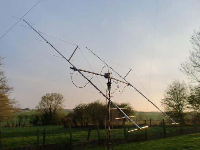 Antenne 2x9 él DK7ZB 144 MHz