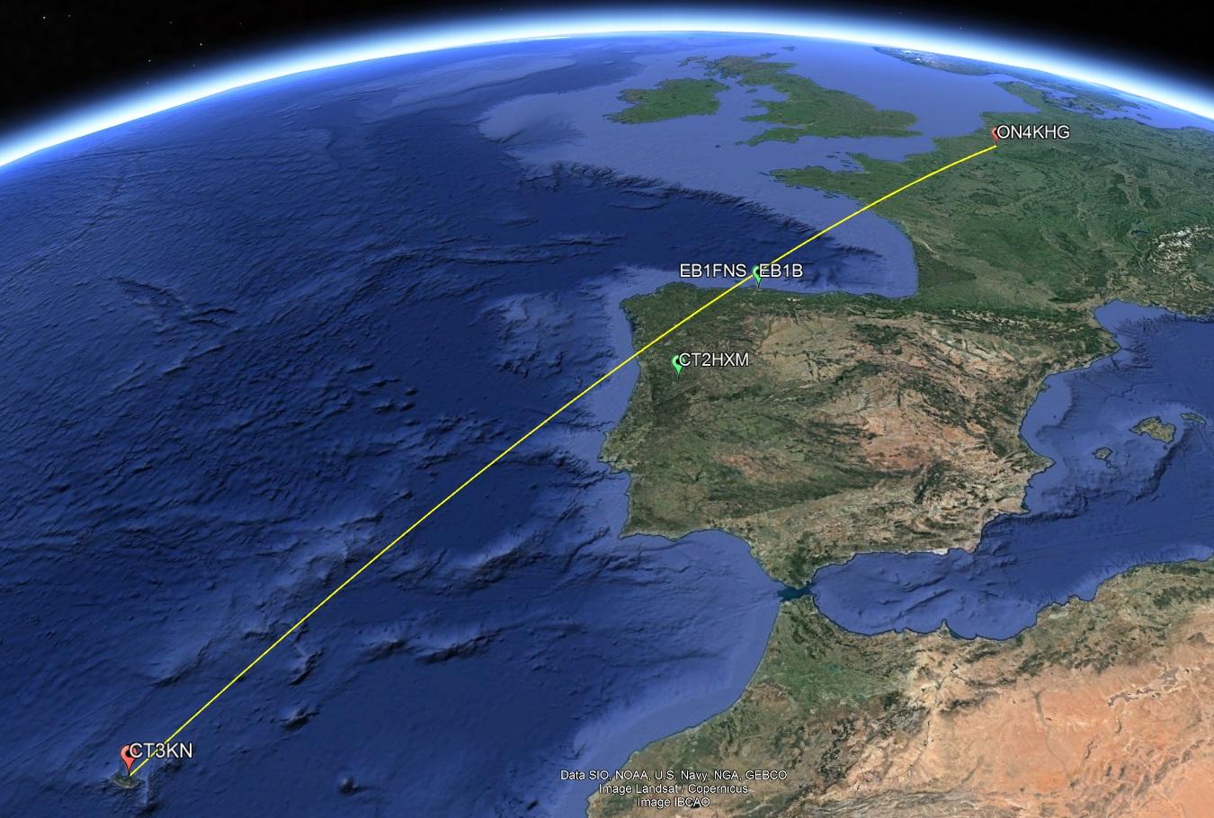 CT3KN Google Maps